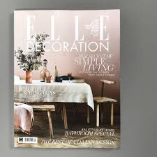 100 Best Magazines For Interior Design Robinson Van Noort Featured In Decorator Index In Elle