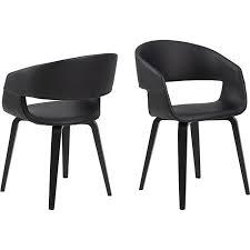 2x nohr esszimmerstuhl schwarz stuhl set esszimmer stühle küchenstuhl küche