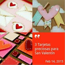 4 Lindas Tarjetas Para El Día Del Amor Y La Amistad Manualidades