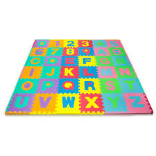 N Play Alphabet and Numbers Foam Puzzle Play Mat 36 Tiles