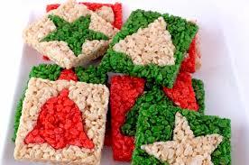 Merry Christmas Rice Krispie Treats