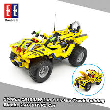 514Pcs Double E C51003W 2 In 1 RC Pickup Truck Building Blocks Kits ... Matchbox Rocky The Robot Truck Sounds And Interactions Youtube 814pcs Double E C51014w 2 In 1 Rc Mixer Building Blocks Kits Does What Interactive By New Tobot Athlon Mini Rocky Transformer Excavator Car T Stinky Garbage Save 35 Today The Dump Toy Talking Mattel Pop Rides Deadpools Chimichanga Deadpool Catalog Funko 1903638801 Deluxe Walmartcom Paw Patrol Sea Light Up Teenage Mutant Ninja Turtles