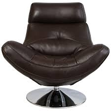 Natuzzi Swivel Chair Brown by Leather Armchairs Armchairs Leather Chairs Stressless