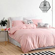Amazon Moreover 4 Pieces Pink Bedding Soft Microfiber Solid