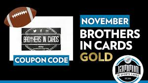 Brothers In Cards Football | November GOLD + COUPON CODE! Csgo Empire Promo Code Fat Pizza Coupon 2018 Target Toy Book Just Released The Krazy Coupon Lady Truckspring Com Iup Coupons Paytm Hacked 10 Off 50 Bedding Customize Woocommerce Cart Checkout And Account Pages With Css Groupon For Vamoose Bus Gamestop Black Friday Deals On Xbox One Ps4 Are Still Facebook Ads Custom Audiences Everything You Need To Know How In Virginia True Metrix Air Meter Ad Preview 12621 All Things