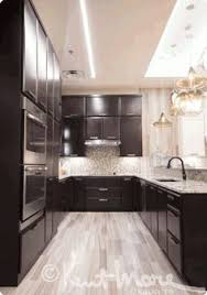 Kent Moore Cabinets Ltd by Sherwin Williams Cyberspace On Lower Cabinets Kitchen Remodel