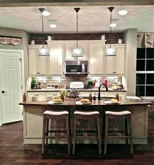 Farmhouse Kitchen Island Original Modern From Table Dark Grey Features Decor Full Size Diy