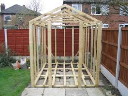 8x6 Wood Storage Shed by Building A Shed