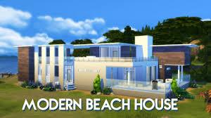 100 Modern Beach Home Sims 4 House Building House YouTube