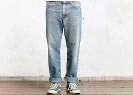 90s distressed jeans vintage stonewashed mens straight jeans