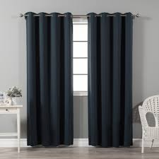 Thermal Curtain Liner Grommet by Best Home Fashion Inc Solid Blackout Thermal Grommet Curtain