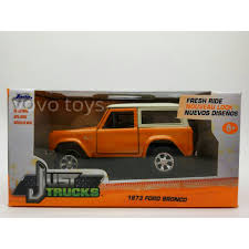 Jual Jada Just Trucks 1:32 1973 Ford Bronco (Orange) - Vovo Toys ...