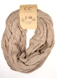 solid cable knit cc infinity scarf ccbeanie com