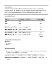 16 Best Fresher Resume Templates Pdf Doc Free Premium Rh Template Net Format For Staff Nurse Freshers Nursing