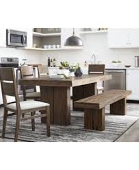 MacyS Dining Room Furniture Closeout Champagne 7 Piece Set