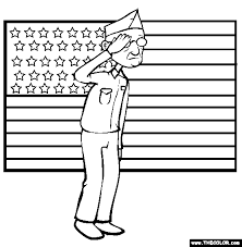 Veterans Day Online Coloring Pages