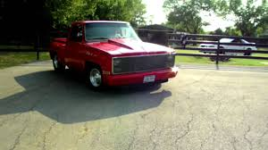 100 Stepside Trucks 1984 Chevy Show Truck YouTube