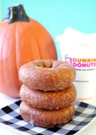 Dunkin Pumpkin Spice Donut by Taking Pumpkin Spice Beyond The Psl Blush Magazine