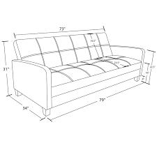 Mainstays Sofa Sleeper Weight Limit by Dhp Delaney Sofa Sleeper Black Walmart Canada