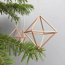 Nightmare Before Christmas Tree Toppers Bauble Set by Get Set For A Modernist Handmade Christmas With Our Geometric