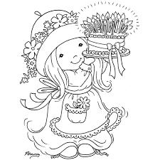 Sarah Kay 31 Dibujos Animados Páginas Para Colorear