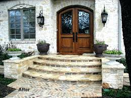 Front Doors : 29 Pretty Front Door Flower Pots That Will Add ... Home Entrance Steps Design And Landscaping Emejing For Photos Interior Ideas Outdoor Front Gate Designs Houses Stone Doors Trendy Door Idea Great Looks Best Modern House D90ab 8113 Download Stairs Garden Patio Concrete Nice Simple Exterior Decoration By Step Collection Porch Designer Online Image Libraries Water Feature Imposing Contemporary In House Entrance Steps Design For Shake Homes Copyright 2010