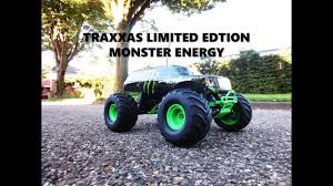 100 Monster Energy Rc Truck Traxxas Limited Edition Jam YouTube