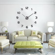 настенные часы modern wanduhr wand uhr wohnzimmer spiegel wandtattoo deko 3d diy neu dhl