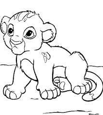 Baby Monkey Coloring Pages Printable Disney Characters Pictures 2