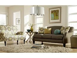 Craftmaster Sofa In Emotion Beige by Craftmaster Accent Chairs Traditional Settee With Rolled Arms And