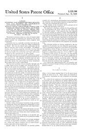 patent us3129104 synthetic wax substitutes for carnauba wax and