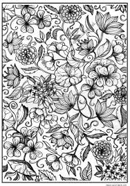 Adults Patterns Coloring Pages 03