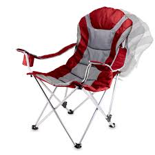 100 Oversized Padded Folding Chairs Reclining Camp Chair PICNIC TIME FAMILY OF BRANDS
