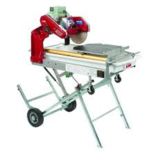 home depot tile saw mk mk 101 pro 24 10 in tile saw with stand and wheels