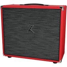 Fender 2x10 Guitar Cabinet by Dr Z 2x10 Speaker Cab Red W Z Wreck Grill Humbucker Music