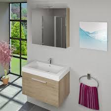 spiegelschrank badspiegel badezimmer spiegel city 100 80cm