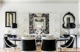 inneneinrichtung in schwarz weiß 20 esszimmer interieurs