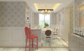 Dining Room Enchanting Wallpaper For On Pattern Accent Wall Designs