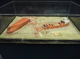 Edmund Fitzgerald Sinking Location by Model Of Wreck Of Edmund Fitzgerald Picture Of Wisconsin