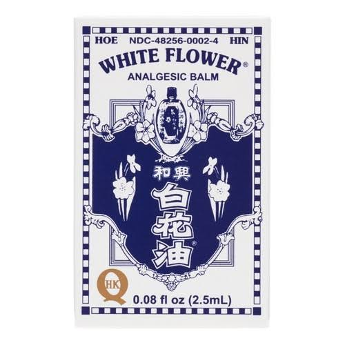 White Flower Analgesic Balm - 0.08oz