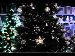 Fibre Optic Tree With 58 Baubles 32 Star
