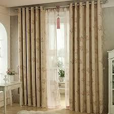 qwasfcds gardinen kleine florale vorhang wohnzimmer