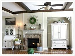 Use Natural Materials To Decorate A Rustic Country Living Room Such As Bundled Sticks Chopped Wood And Fresh Or Silk Plants