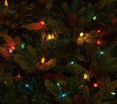 Qvc Pre Lit Christmas Trees by Bethlehem Lights 7 5 U0027 Heritage Spruce Christmas Tree W Instant