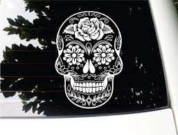Sugar Skull Version 38 Day Of The Dead Vinyl Wall Home Decor Car ... The 2nd Half Price Firefighter Skull Car Sticker 1915cm Car Styling 2 Metal Mulisha Girl Skulls Bow Vinyl Decals 22 X Window Truck Army Star Military Bed Stripe Pair Skumonkey 2019 X13cm Punisher Auto Sticker Pentagram Cg3279 Harleydavidson Classic Graphix Willie G Decal Pistons Hood Matte Black Ram F150 Pin By Aliwishus On Skulls Flags Pinterest Stickers And Decalset Hd Skull American Flag Backround Cg25055 Die Cutz High Quality White Deer Rack Wall Etsy Unique For Trucks Northstarpilatescom Buy Shade Tribal Graphics Van