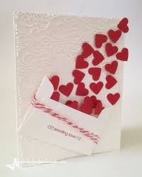 Creative Ideas For Birthday Card Making 50 Thoughtful Handmade Valentines Cards Diy Pinterest