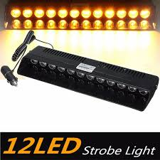 LED Strobe Emergency Vehicle Flash/Warning Dash Light With 3 Modes ...