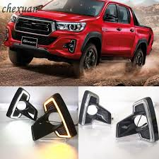 CSCSNL 1 Set For Toyota Hilux Revo Rocco 2018 DRL LED Daytime ... Obd Genie Cdrl Daytime Running Lights Programmer For Chrysler Dodge Spyder Free Shipping I Want To Put Running Lights On My Truck Help Cummins Tail Led Light Bar Spec D Motorcycle Pair Dualcolor Cob Led Car Daytime Fog Lamp Ford 201518 Board Premium F150ledscom 5 Smoke Roof Cab Marker Coverxenon White T10 Led Ford F150 Questions 2013 Electrical Cargurus Csnl 1 Set For Toyota Hilux Revo Rocco 2018 Drl Tundra Daytime Running Lights System Tundra Forum