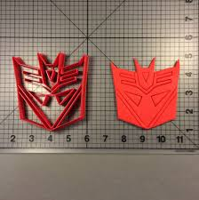 Transformers Decepticons Pumpkin Stencils by Movie Jb Cookie Cutters