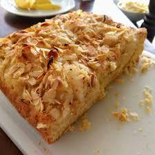 birnen mandel kuchen rezept mit birnen und mandelsplitter